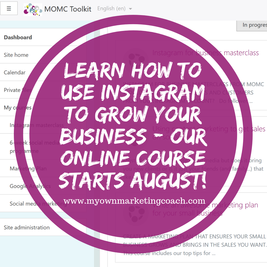 Using Instagram for business - My Own Marketing Coach